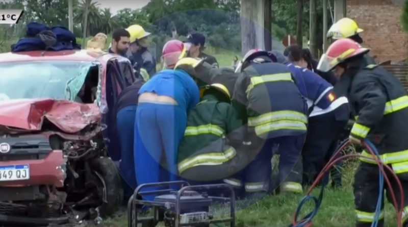 "Accidente en Ruta 6: ""El auto estaba totalmente desarmado"""